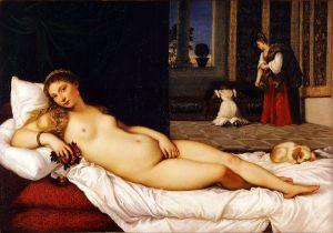 """Vênus de Urbino"", Ticiano"